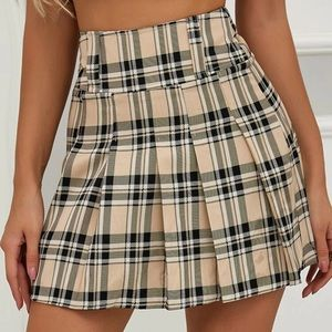 New skirt plaid